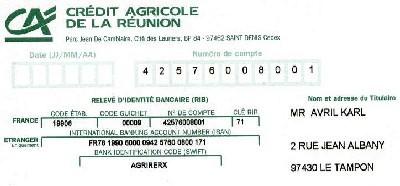 法国银行 RIB 相关名词解释(IBAN, BIC, SWIFT Code, SEPA)